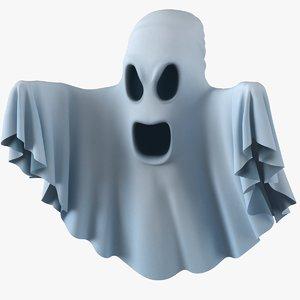 ghost 3D model