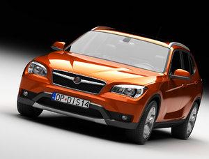 3d suv car model