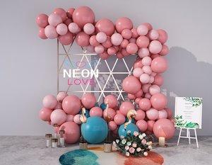 display balloon 3D model