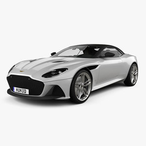 3D dbs superleggera aston