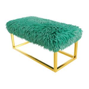 bench fur 3D model