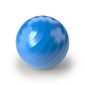 3D yoga ball
