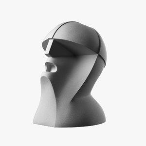 bust marinetti sculpture thayaht model