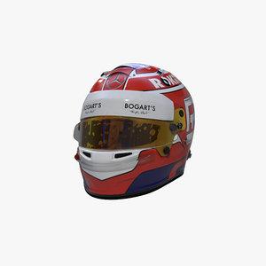 russell 2020 helmet 3D
