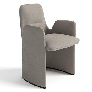3D model guest seat dordoni