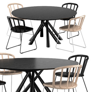 3D forest table 150 nym