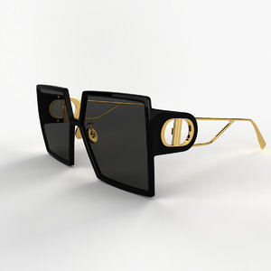 dior sunglasses 3D model