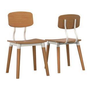 chair norfolk 3D model