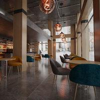 Coffeeshop Bar Realistic Scene V2