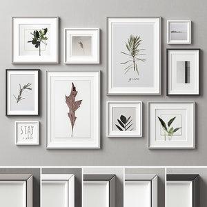 frames picture 3D