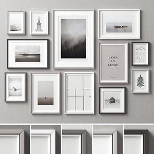 frames picture 3D model