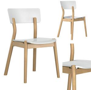 bentwood chair 1506 3D model