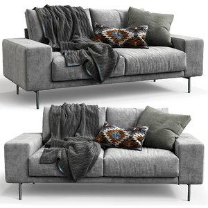 3D design sofa piu double