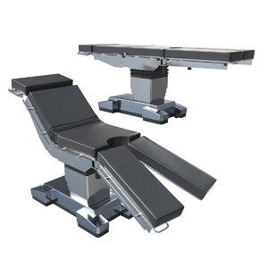 3D model mindray hybase 6100 operating table