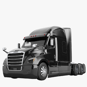 3D freightliner cascadia 2020