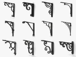 3D wall brackets vol 4