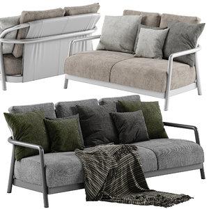 3D flexform sofa model