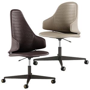 vela office chair 3D model