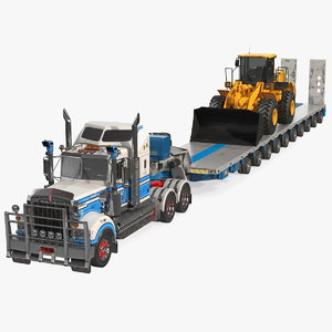 3D t900 drake steerable trailer