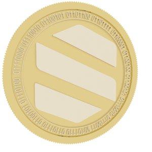 semux gold coin 3D model