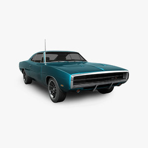 dodge charger rt 1970 3D model