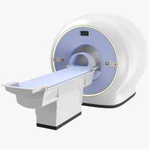 real medical scanner 3D model