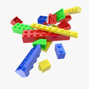constructor lego 3D model