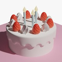 Birthday Cake Strawberry