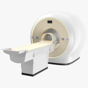 3D real medical scanner model