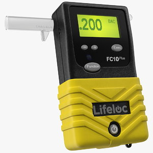 lifeloc fc10 breathalyzer bac 3D