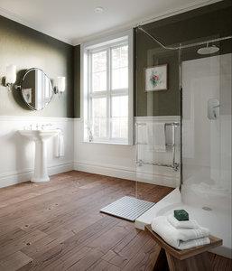 3D classic victorian bathroom -