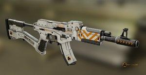 3D tacticool ak gun
