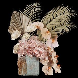 flower floweringplants plants 3D model