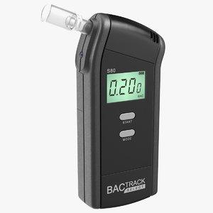 bactrack s80 pro breathalyzer 3D model