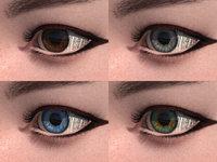 3D Human Cute Eyes 6 Colors