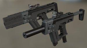 conversion kit gun glock 3D model