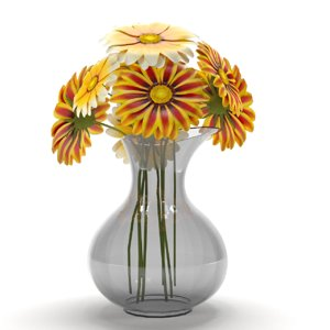 flower decor 3D