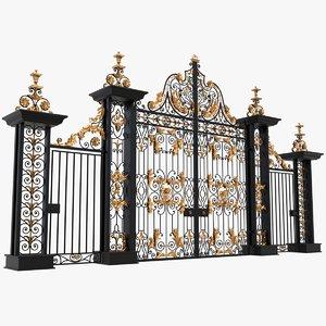 3D model gates x3
