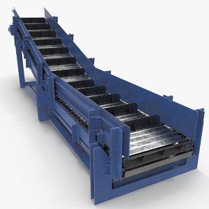 3D conveyor apron model