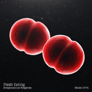 3D microbes bacteria