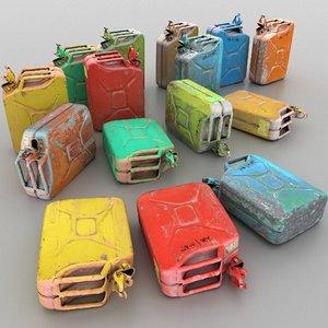 carnister pack 8k 3D model