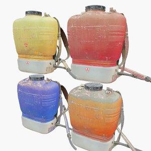 agricultural sprayer pack 8k 3D