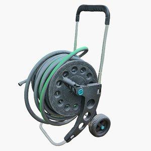 3D garden hose hd 8k model