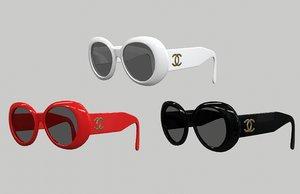 sunglasses eye 3D model