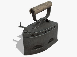 3D model old iron