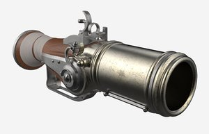 3D musket mini model