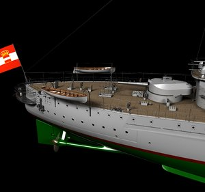babenberg austro-hungarian empire 3D model
