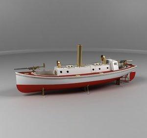 3D steam boat company crayton