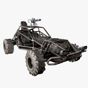 war buggy 3D