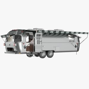realistic travel trailer model